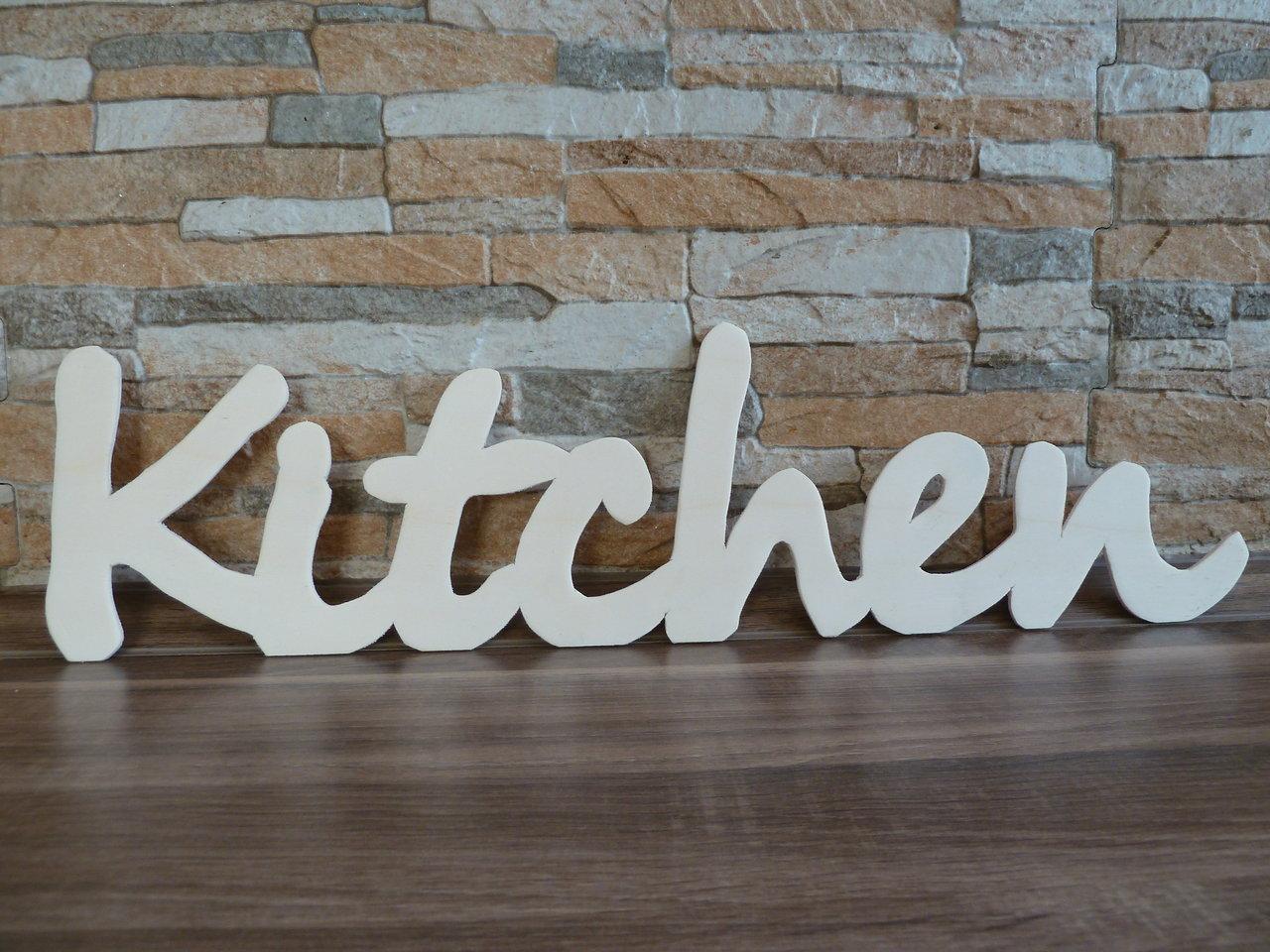 Kitchen Küche Schriftzug - KreativWerkstatt Mittenaar